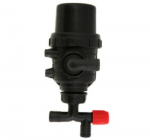 Small suction filter without the shut-off valve