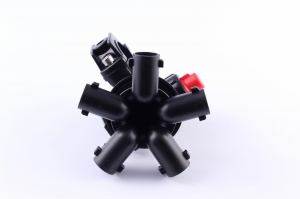 5-way nozzle holder with eyelet connector (Arag-system)