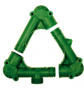 Complete suction manifold P-145