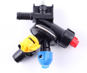 3-way nozzle holder (double hose connector, RAU-system) (1) (1)