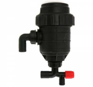 Suction filter without the shut-off valve
